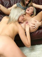 brea, ivanka and ashlie - tempting teen trio laps and fingers
