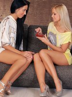 lila and bailey - hot teens - lovely teens have some sensual fun