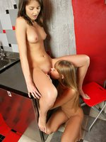 milka and ady - slender teen cutie deeply finger