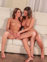 renata and misha - gorgeous teens undress and finger